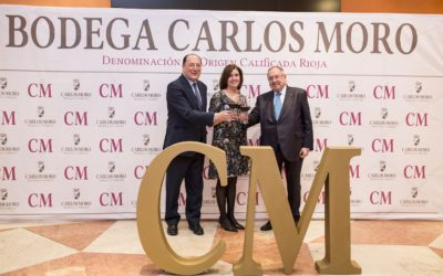 Carlos Moro Winery presents its red wine  CM Prestigio