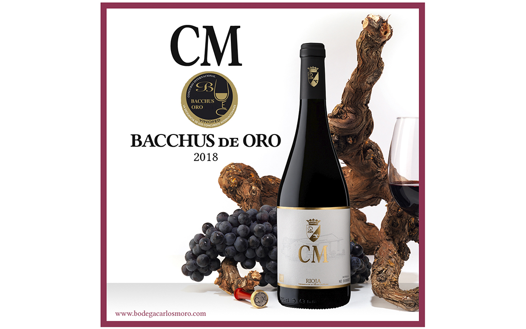 CM 2015: Gold Medal in the 2018 Bacchus Awards