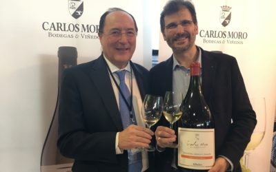 Carlos Moro presents Finca San Cibrao, the first Ribeiro DO wine, at Madrid Fusion