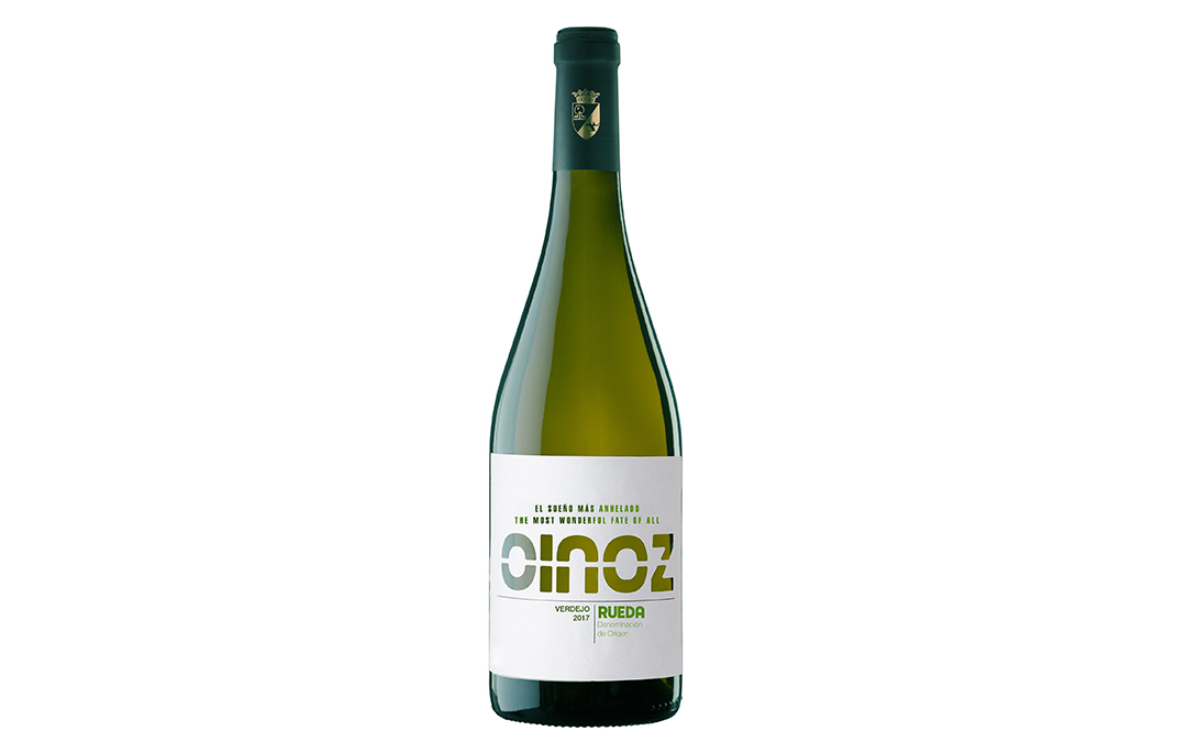 Oinoz Verdejo 2017 is awarded the Baco de Oro